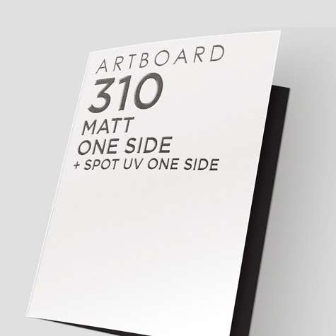 310 Artboard Matt One Side + Spot UV 1 Side