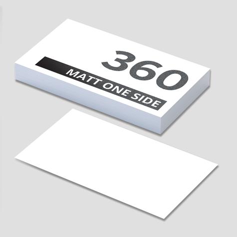 360 Artboard Matt One Side