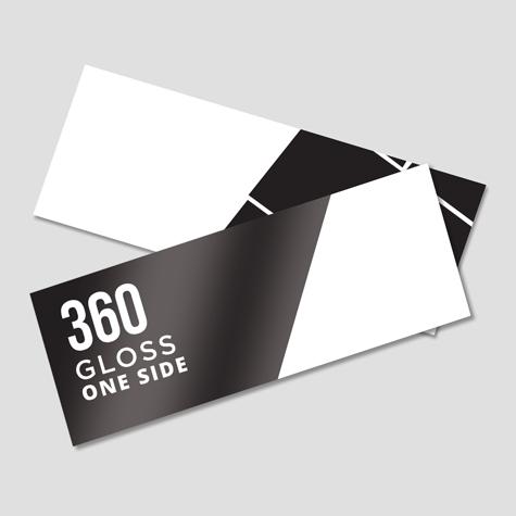 360 Gloss One Side