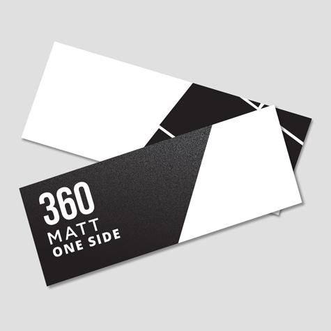 360 Matt One Side
