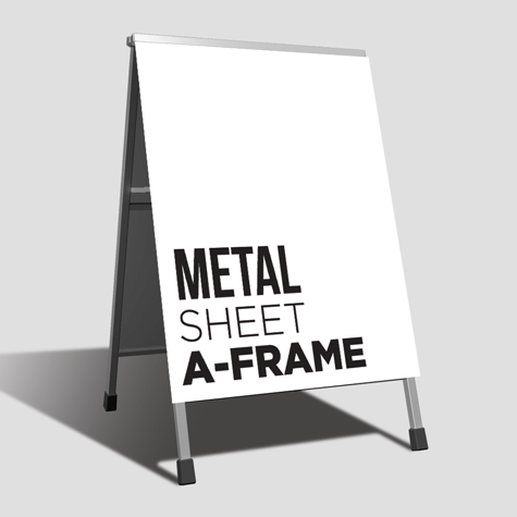 Metal Sheet A-Frame